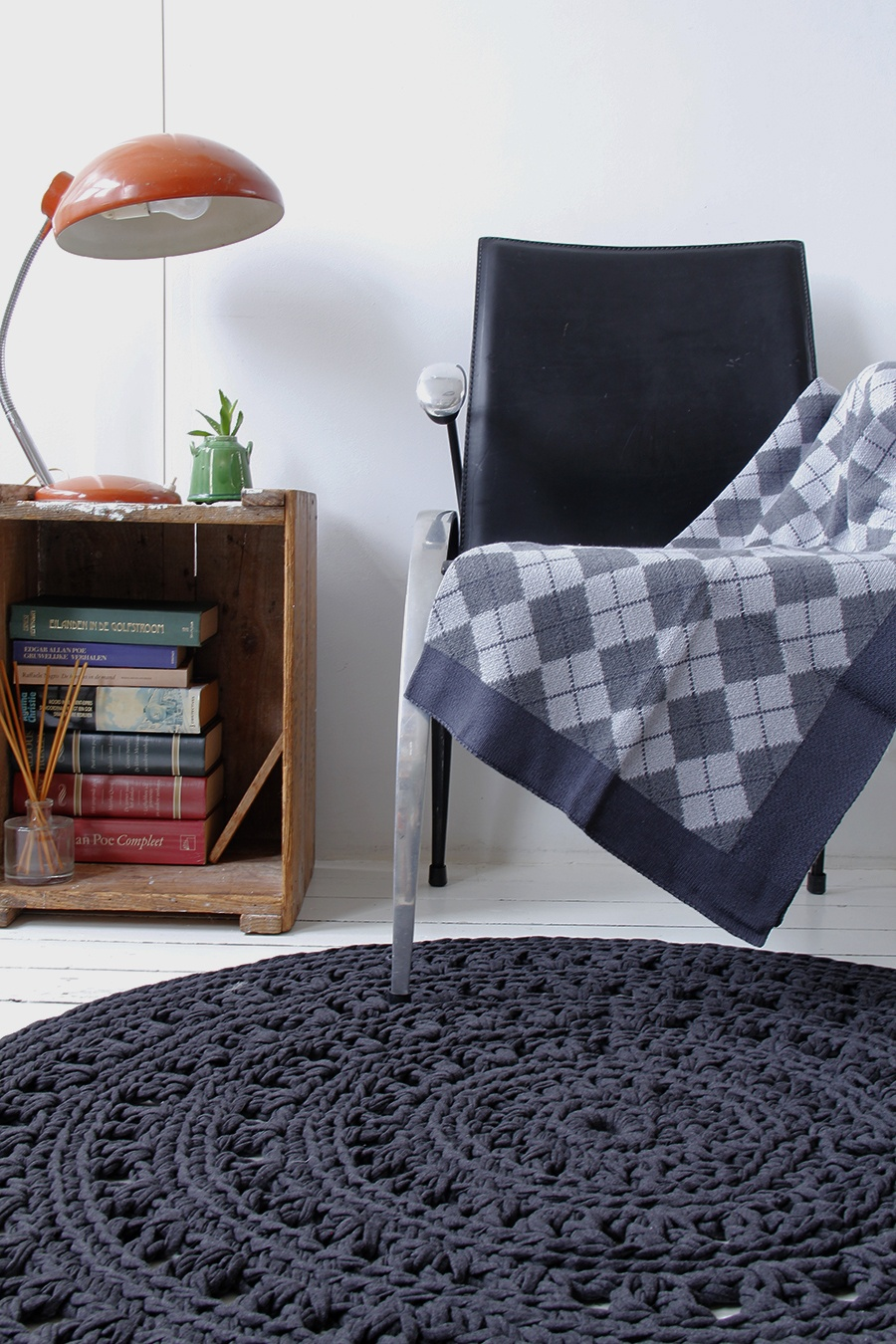 Styling livingroom anthracite