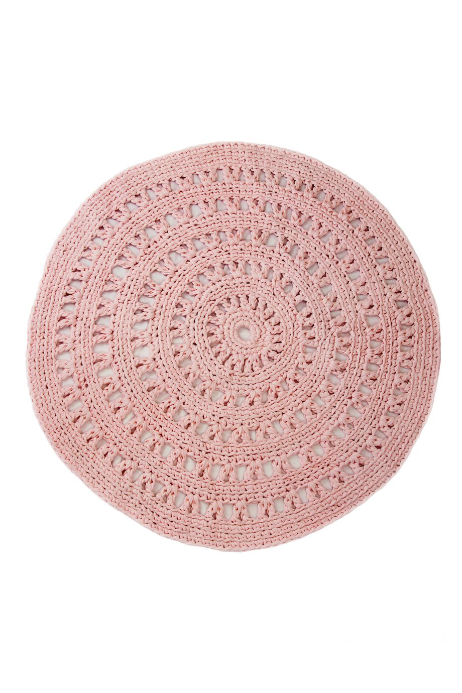 arab baby roze gehaakt katoenen kleed large