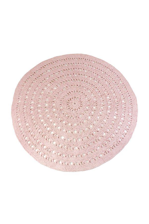 arab poeder roze gehaakt katoenen kleed large