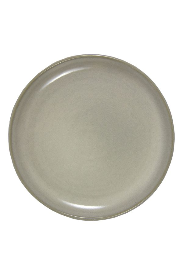 bord melk wit glaze ceramic xlarge