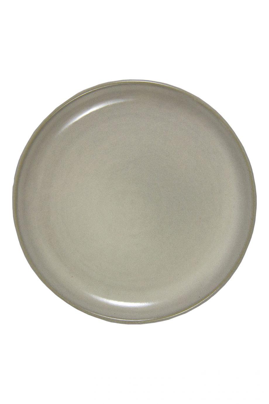 dessert bord melk wit glaze ceramic medium