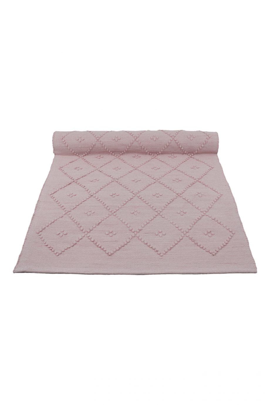 diamond baby roze geweven katoenen kleedje small