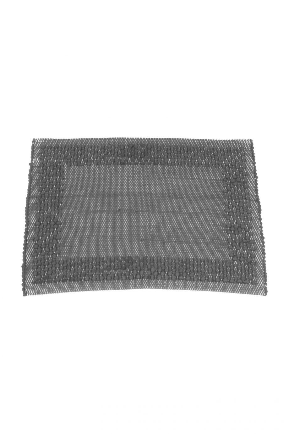 frame grijs geweven katoenen placemat small