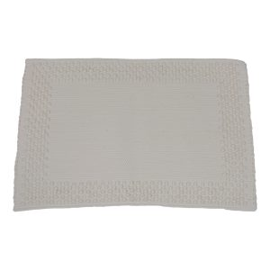 frame off-white geweven katoenen placemat small