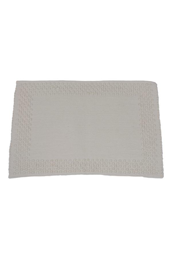 frame off-white geweven katoenen placemat small