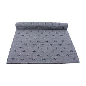 liz grijs geweven katoenen kleed medium