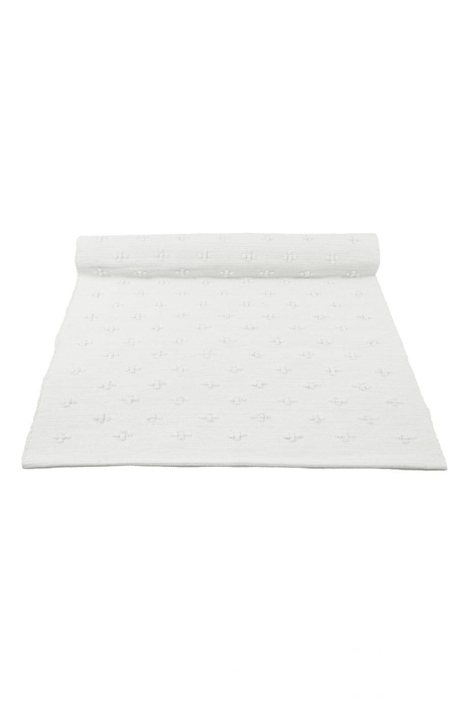 liz wit geweven katoenen kleed medium