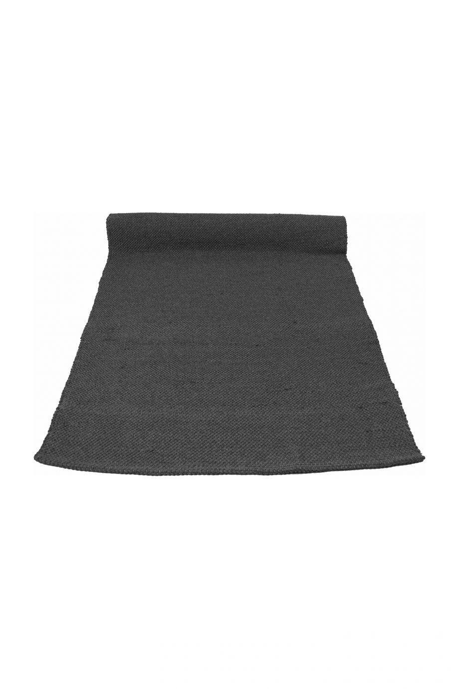 nordic antraciet geweven katoenen kleed medium