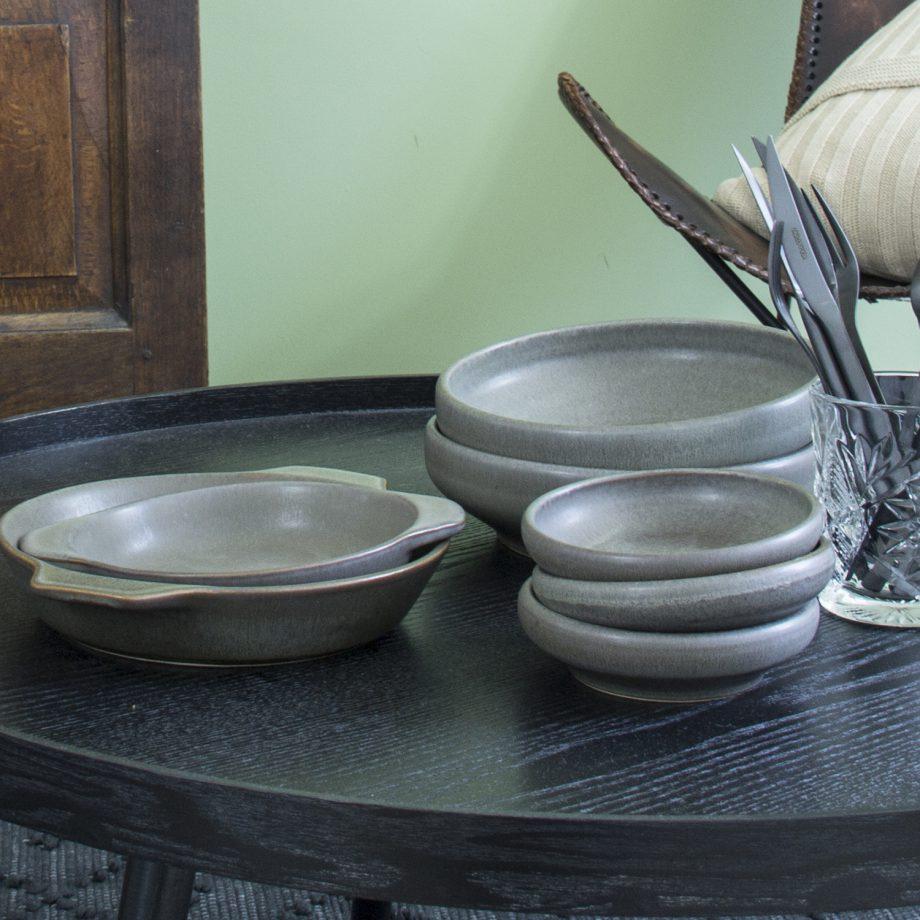 oven bord houtskool mat ceramic aardewerk large
