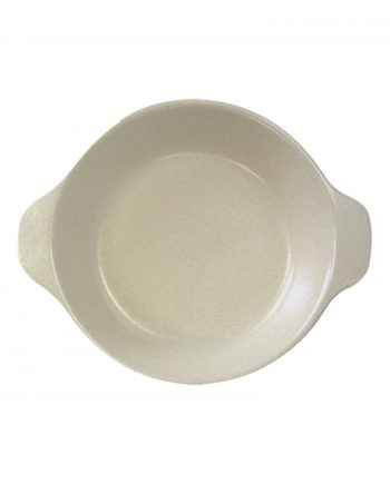 oven bord melk wit glaze ceramic small
