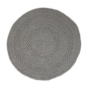 peony licht grijs gehaakt katoenen kleed medium