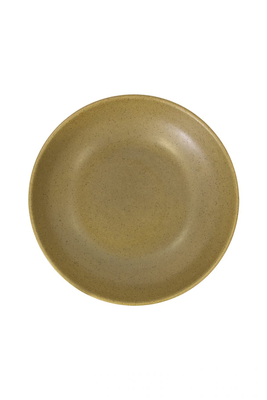 salade kom mosterd mat ceramic aardewerk large