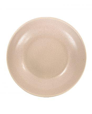 salade kom poeder roze mat ceramic aardewerk large