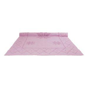 star roze geweven katoenen kleed xlarge