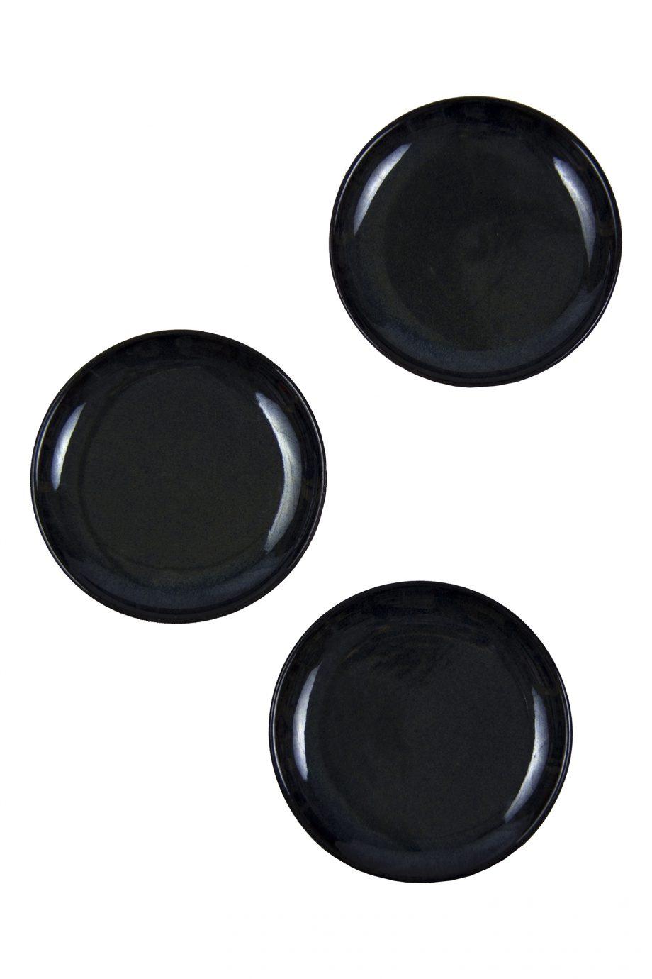 tapas bord ink glaze ceramic small