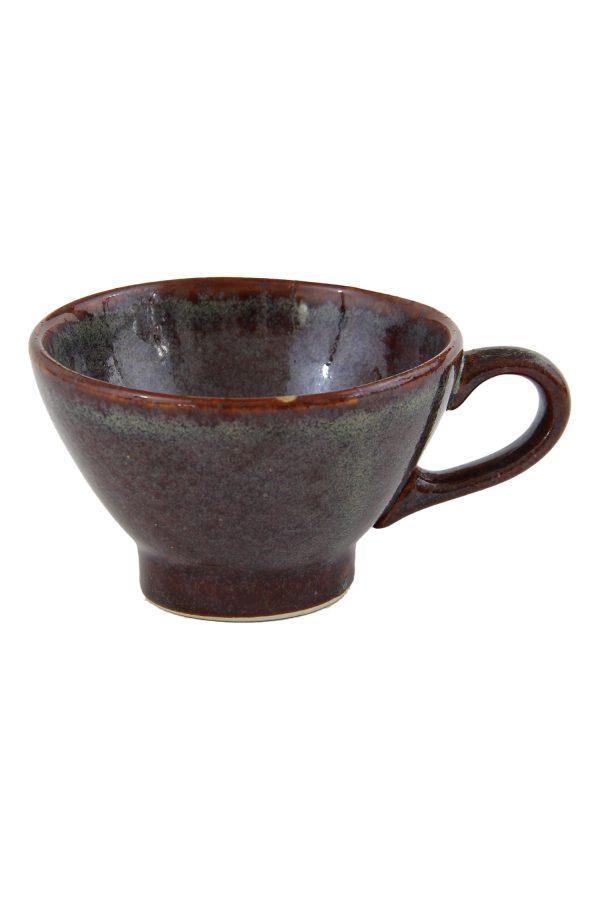 thee kop oker glaze ceramic